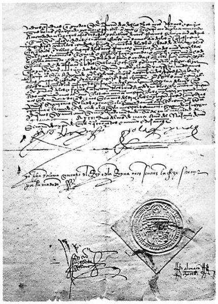 El decreto de la Alhambra