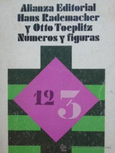 Números y figuras, de Hans Rademacher y Otto Toeplitz