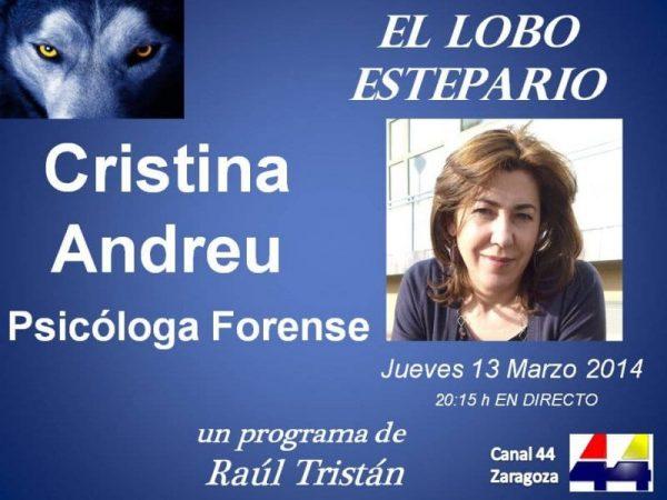 Cristina Andreu en El Lobo Estepario