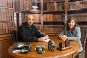 El Lobo Estepario. Raúl Tristán entrevista a Cristina Andreu