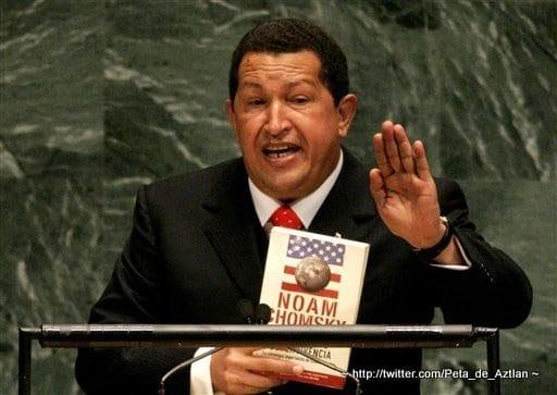 Hugo Chávez libro Chomsky