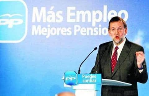 rajoy 150 compromisos para mejorar España...