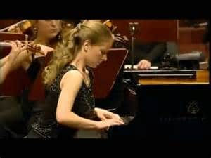 Julia Fischer al piano