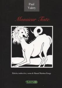 Monsieur Teste, de Paul Valéry