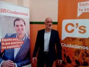 Nicolás de Miguel, portavoz Ciudadanos Euskadi