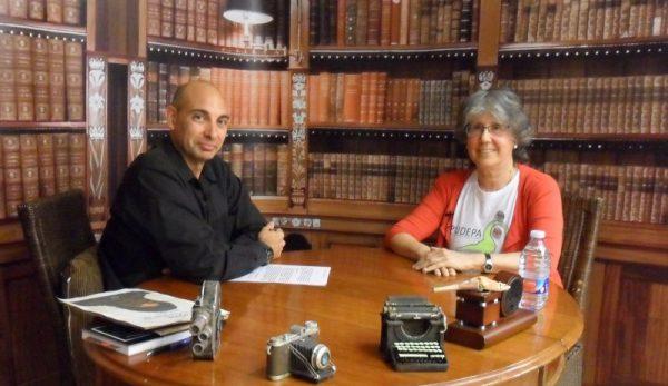 Raúl Tristán entrevista a Belén Boloqui, defensora del patrimonio aragonés, en 'El Lobo Estepario'