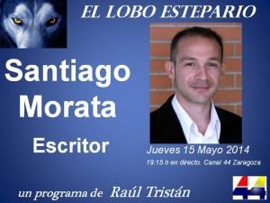 Santiago Morata en El Lobo Estepario de Raúl Tristán