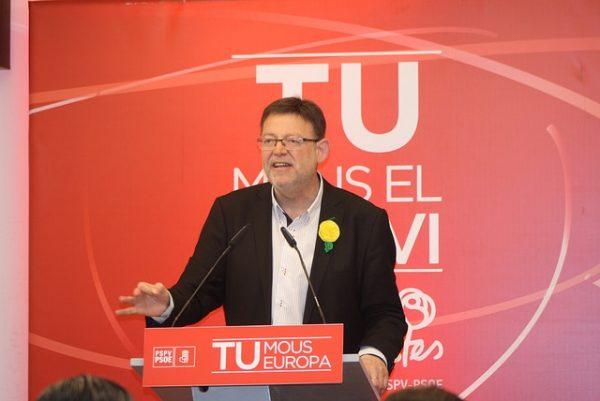 El secretario general del PSPV-PSOE, Ximo Puig