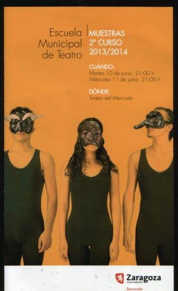 Fin de curso de la Escuela Municipal de Teatro de Zaragoza