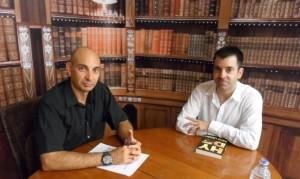 Raúl Tristán entrevista a David Lozano, escritor, en 'El Lobo Estepario'