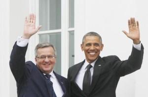 obama y el polaco