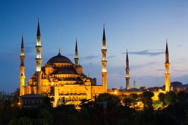 Turquía. Estambul. Mezquita azul