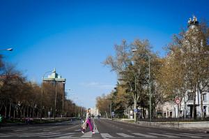 Madrid solitaria
