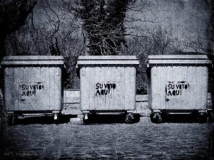 democracia voto basura