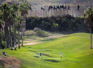 Campo golf Melilla
