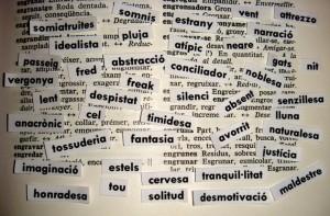 diccionario vocabulario palabras