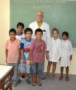 Prof. Yorg y sus alumnos.