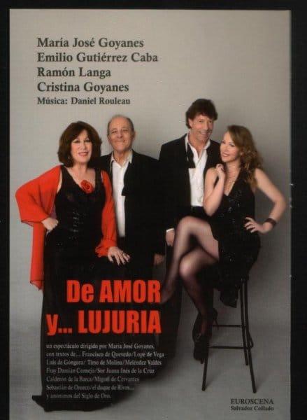 Recital erótico en el Teatro Principal