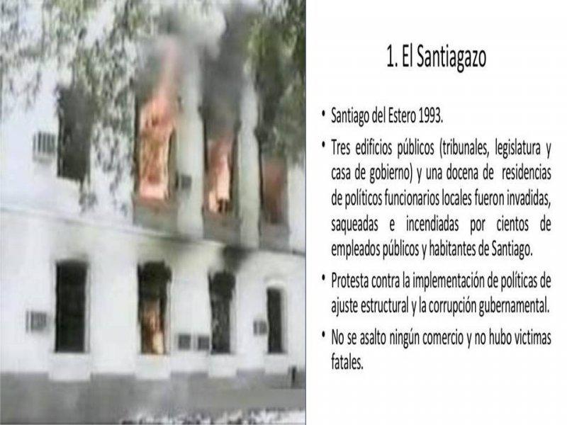 La ira de los pueblos: el caso santiagueño