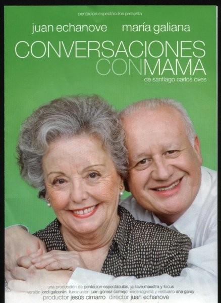 'Conversaciones con mamá': madre e hijo frente a frente