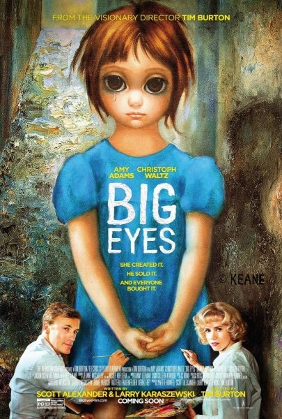 Burton deja las tonterías y al fin retorna: Big Eyes (2014)