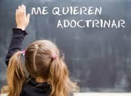 adoctrinamiento aulas