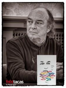 El autor, Eugenio Mateo, durante la presentación del libro