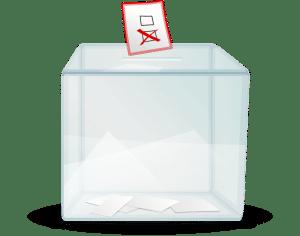 encuesta urna voto