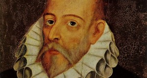 Miguel de Cervantes, por Juan de Jáuregui