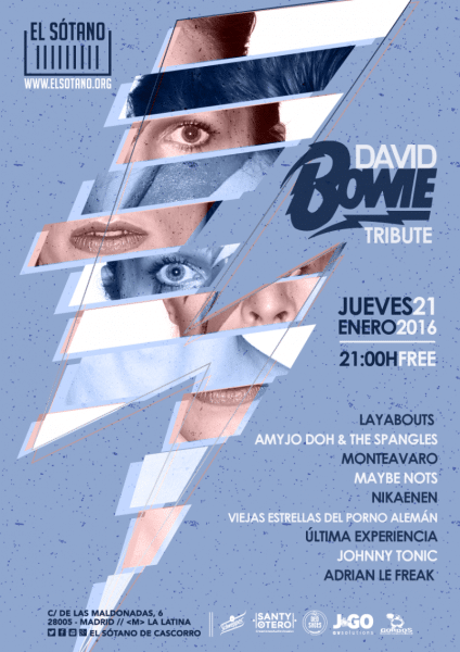 TRIBUTO A DAVID BOWIE