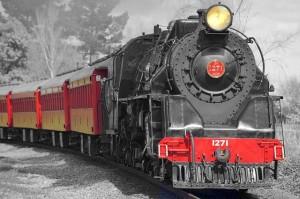 locomotora vapor