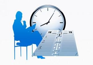 reloj agenda economía pensar