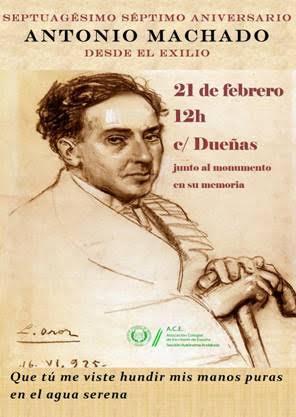 acto homenaje Antonio Machado