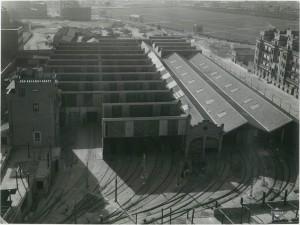 cocheras de metro de cuatro caminos