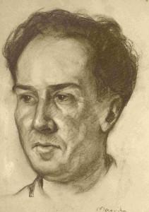 Antonio Machado por Frederic Mariera Vila (1926)