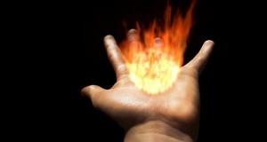 manos fuego