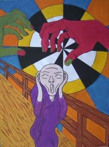grito munch el miedo