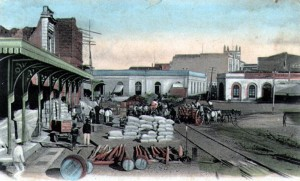 Paraguay 1864:  El puerto y su emtorno