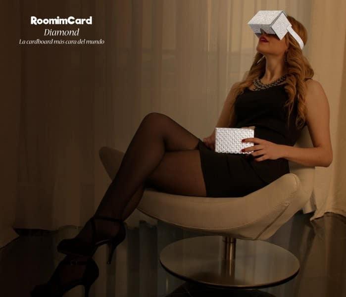 Gafa de realidad virtual Cardboard