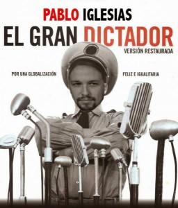 PODEMOS. Pablo Iglesias - EL GRAN DICTADOR