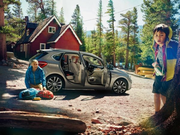 BMW Serie 2 Active Tourer camping