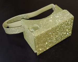 Gafas de realidad virtual Roomimcard modelo Diamond oro