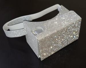 Gafas de realidad virtual Roomimcard modelo Diamond plata