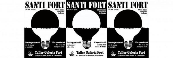"""exposición """"Ideas"""" Santi Fort"""