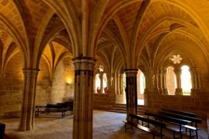 Monasterio de Piedra - Gótico Sala capitular