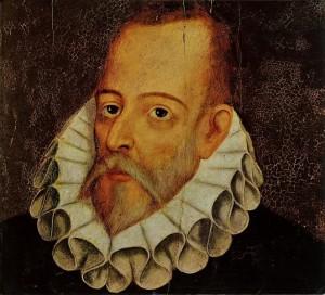 Juan de Jauregui.Retrato de Miguel de Cervantes