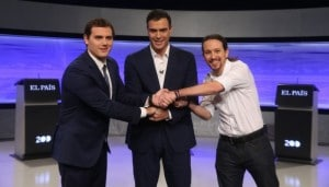 Politicos Keynes y Hayek Pedro Sáncez Rivera e Iglesias