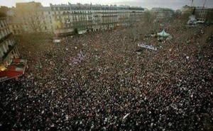 Movilización contra la ley EL Khomri