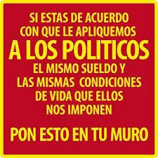 políticos sinvergüenzas