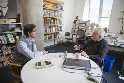 La crisis de los refugiados Chomsky